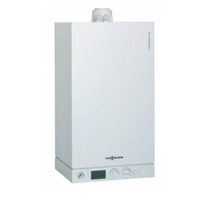 Газовый конденсационный котёл VIESSMANN Vitodens 100-W 5,9-35,0 (5,1-31,9) кВт двухконтурный+ комплект