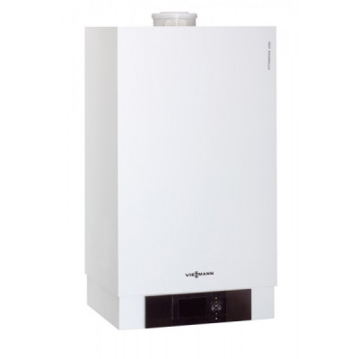 Газовый конденсационный котел VIESSMANN Vitodens 200-W 2,6-26,0 (2,4-24,1) кВт двухконтурный с Vitotronic 200