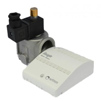 Сигнализатор пропан-бутан + клапан Ду20