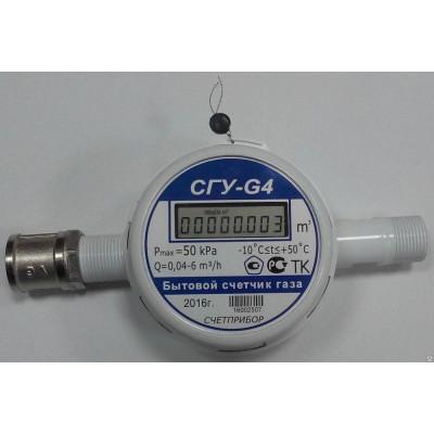 Ультразвуковой счетчик газаСГУ G4 - G6