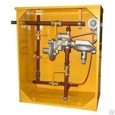Газорегуляторный пункт шкафной-10МС-1