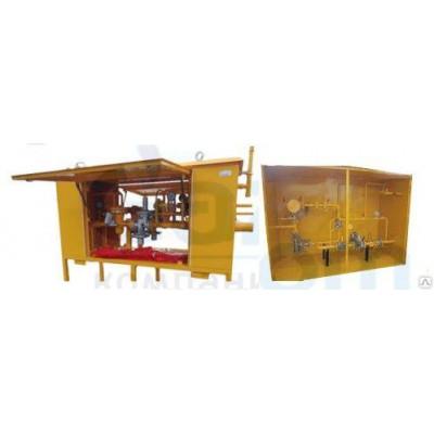 Газорегуляторные пункты с узлом учета расхода газа