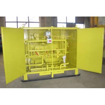 Пункт учета расхода газаПУРГ на базе турбинного счетчика СГ-16МТ