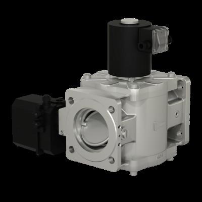 Фланцевые DN 40-100, с электроприводом регулятора расхода (привод SP0)