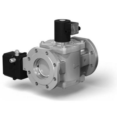 Клапаны электромагнитные двухпозиционные фланцевые с электроприводом регулятора расхода на DN 50-100 (привод S