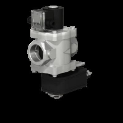 Клапаны электромагнитные двухпозиционные муфтовые с электроприводом регулятора расхода на DN 40,50 (привода LF