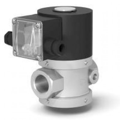 Клапан электромагнитный двухпозиционный муфтовый для жидких сред на DN 15, 20, 25