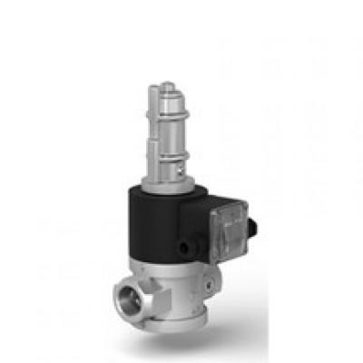 Клапаны электромагнитные двухпозиционные муфтовые на DN 15-50 с медленным открытием