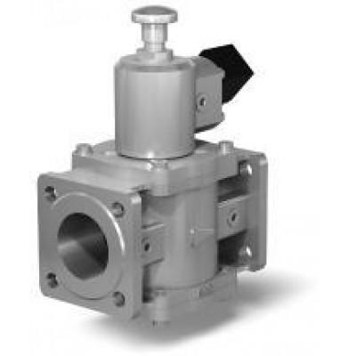Клапан электромагнитный двухпозиционный фланцевый с ручным взводом механического типа DN 25-100