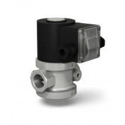 Клапаны электромагнитные стальные двухпозиционные муфтовые с ручным регулятором расхода на DN 15-32
