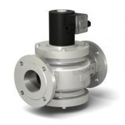 Клапаны электромагнитные стальные двухпозиционные фланцевые с ручным регулятором расхода на DN 32-100