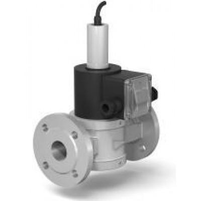 Клапаны электромагнитные стальные двухпозиционные фланцевые DN 15-25 с датчиком положения нормально-открытые