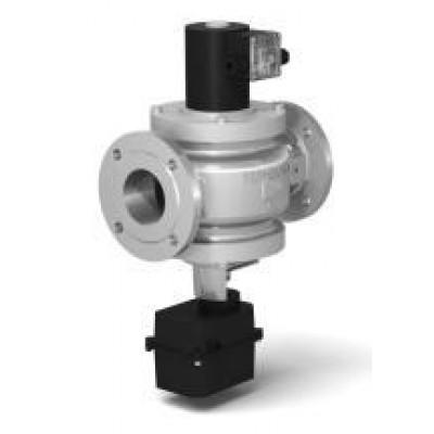 Клапаны электромагнитные стальные двухпозиционные с электроприводом регулятора расхода (DN 40-100, привод SP0)