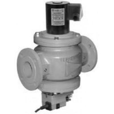 Клапаны электромагнитные двухпозиционные с э/м регулятором расхода газа на DN 40-100 привод LM24A-SR