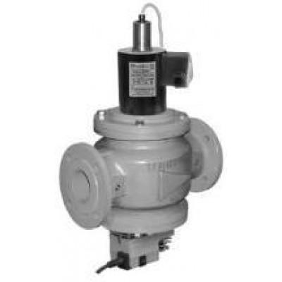 Клапаны электромагнитные двухпозиционные с э/м регулятором расхода газа и датчиком положения на DN 40-100