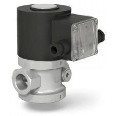 Клапаны электромагнитные двухпозиционные стальные муфтовые для жидких сред на DN 15, 20, 25