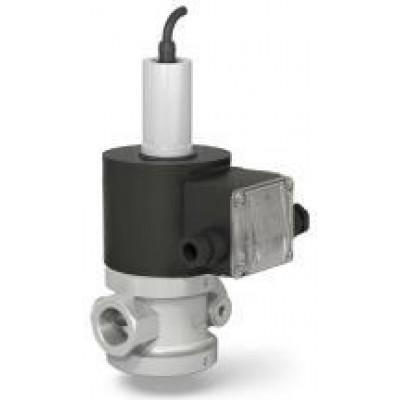 Клапан электромагнитный двухпозиционные стальные муфтовые для жидких сред с датчиком положения на DN 15, 20