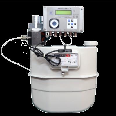Комплекс для измерения количества газа мембранный счетчик и корректор Флоугаз-Т КИ-СТГ-МС-ФТ