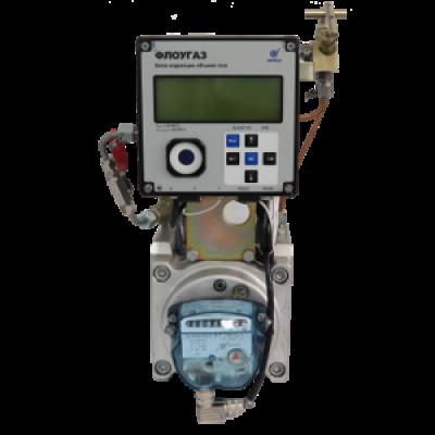 Комплекс на базе ротационного счетчика РСГ Сигнал с корректором Флоугаз КИ-СТГ-РС-Ф
