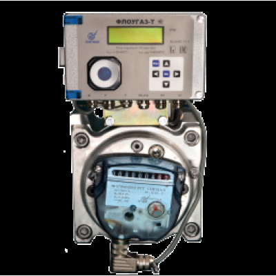 Комплекс на базе ротационного счетчика ротационный счетчик РСГ Сигнал с корректором Флоугаз-Т КИ-СТГ-РС-ФТ