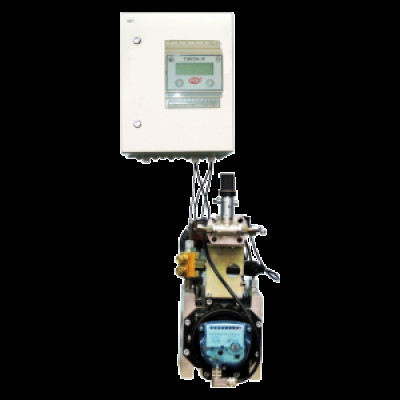 Комплекс на базе ротационного счетчика РСГ Сигнал с корректором ТЭКОН (17, 19) КИ-СТГ-РС-Н