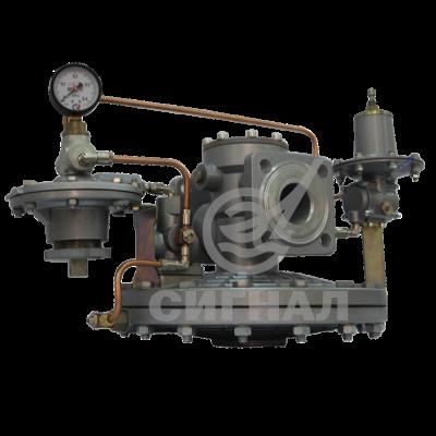 Регуляторы давления газа вентельного типа с пилотным управлением РДБК